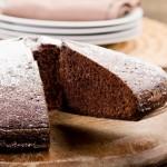 Gâteau au chocolat à la farine de coco