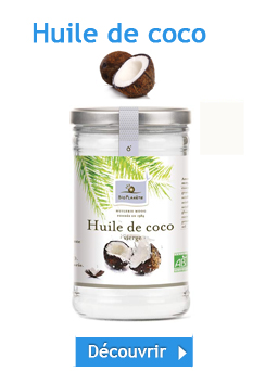 huile de noix de coco quel rayon